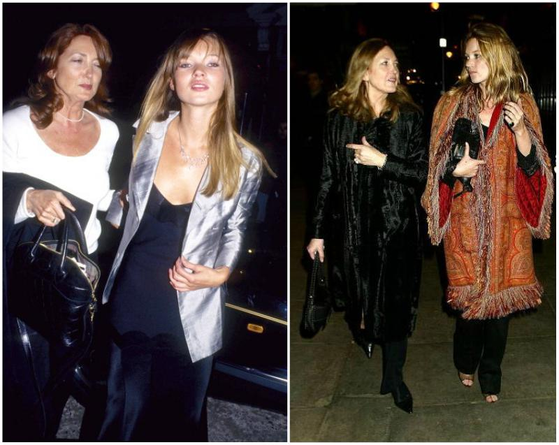 Kate Moss parents - mother Linda Rosina Moss