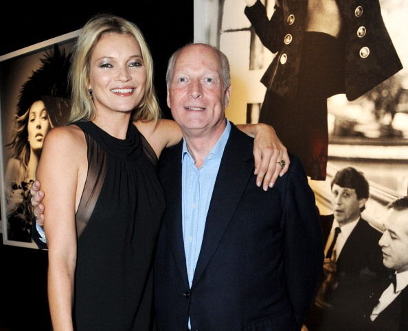 Kate Moss family - father Peter Moss