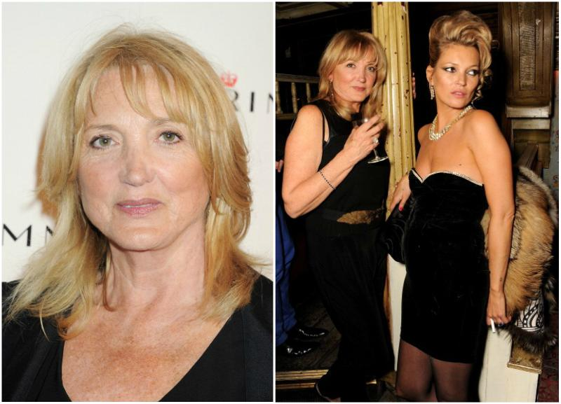 Kate Moss family - mother Linda Rosina Moss
