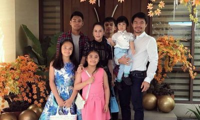 Manny Pacquiao`s family: wife and children