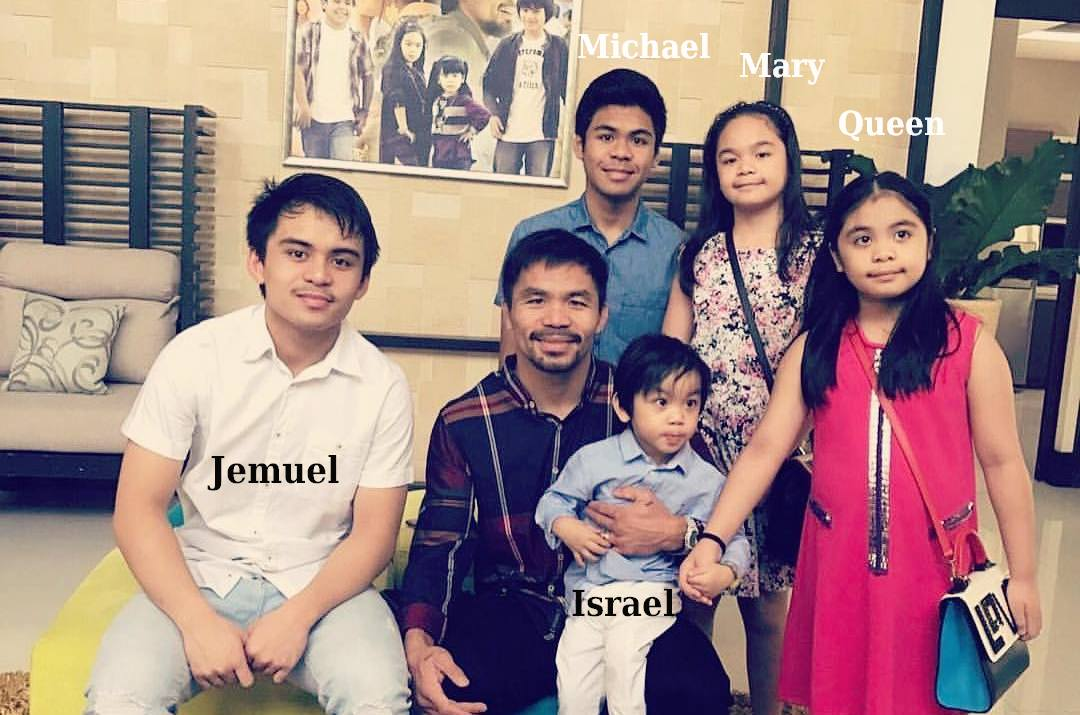 Manny Pacquiao`s children