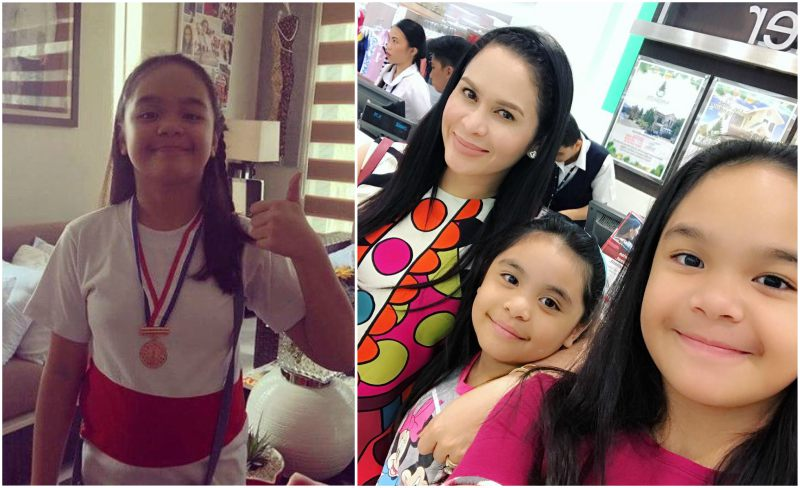 Manny Pacquiao`s children - daughter Mary Pacquiao