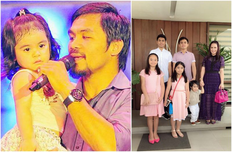 Manny Pacquiao`s children - daughter Queen Elizabeth Pacquiao