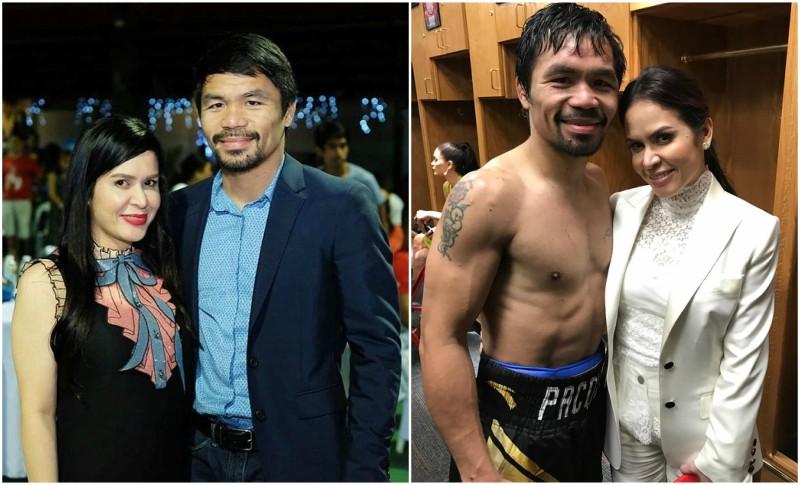 Manny Pacquiao`s family - wife Jinkee Pacquiao