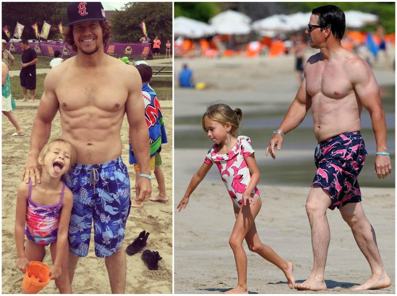 Mark Wahlberg`s children - daughter Grace Wahlberg