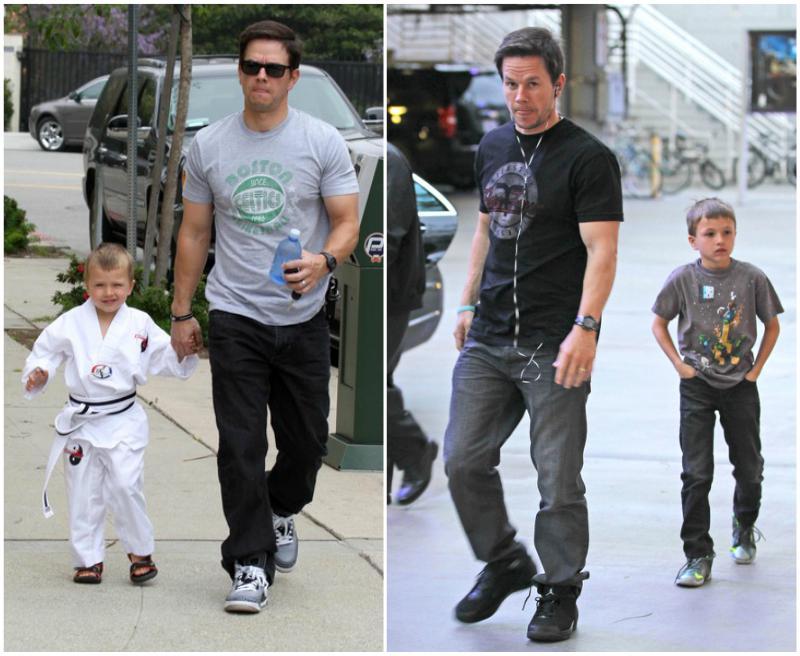 Mark Wahlberg`s children - son Michael Wahlberg