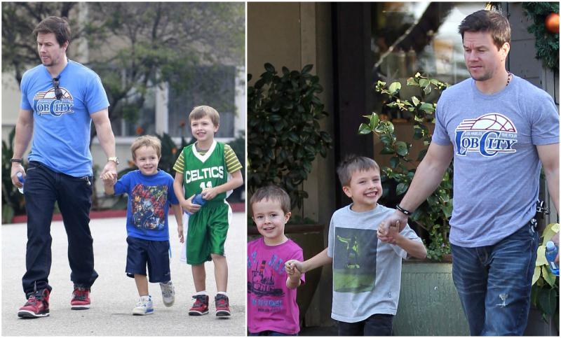 Mark Wahlberg`s children - sons