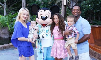 Alfonso Ribeiro`s with wife and children