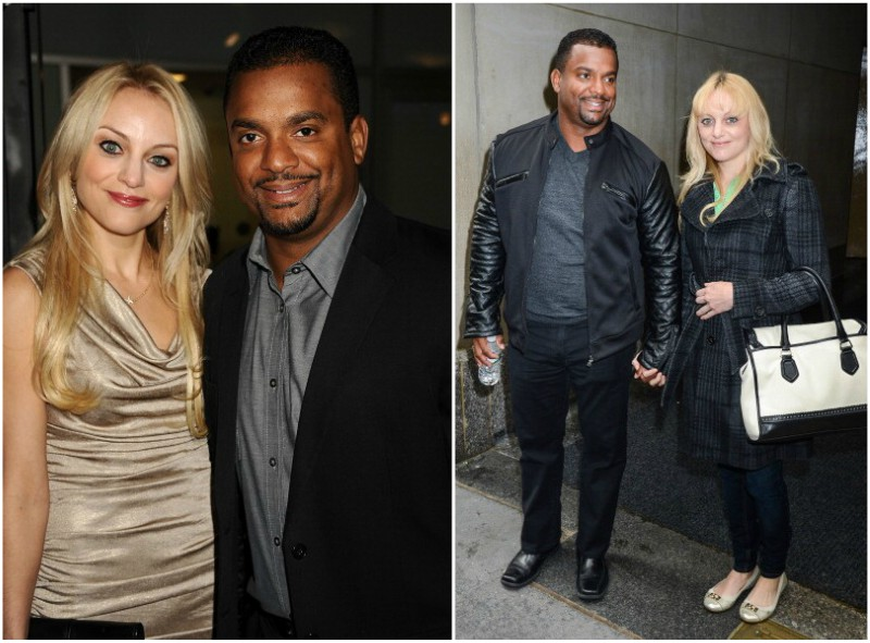 Fresh Prince Star Alfonso Ribeiro`s family: wife and three ...