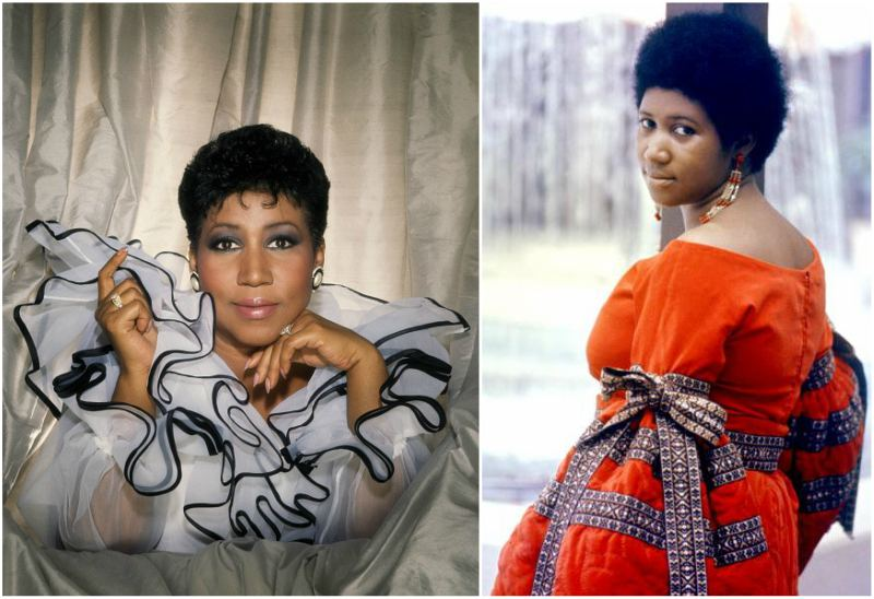 Aretha Franklin`s family