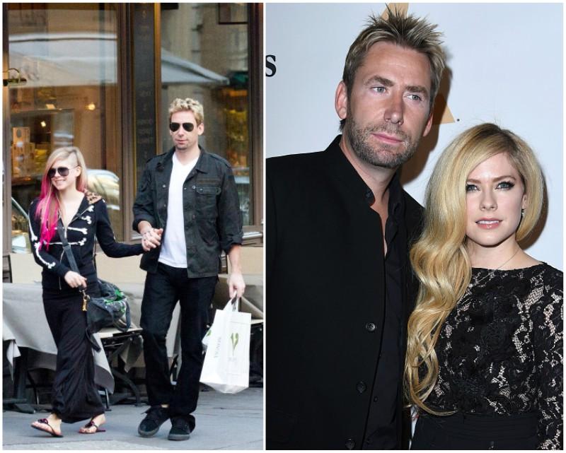 Avril Lavigne`s ex-husband Chad Kroeger