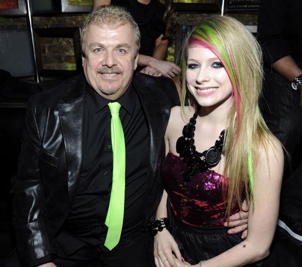Avril Lavigne`s family - father Jean-Claude Lavigne