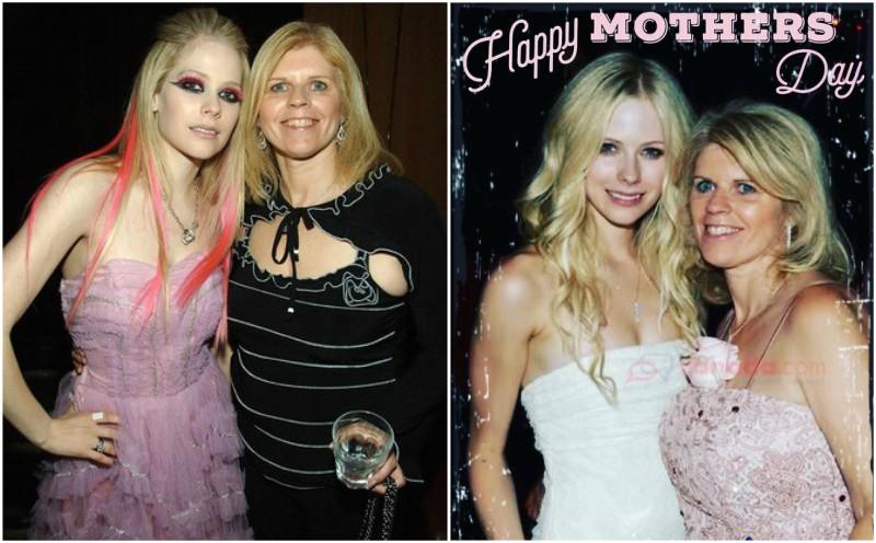 Avril Lavigne`s family - mother Judith Rosanne Lavigne