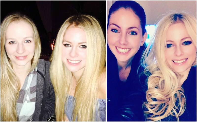 Avril Lavigne`s siblings - sister Michelle Lavigne
