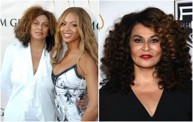 Beyonce`s family - mother Tina Knowles