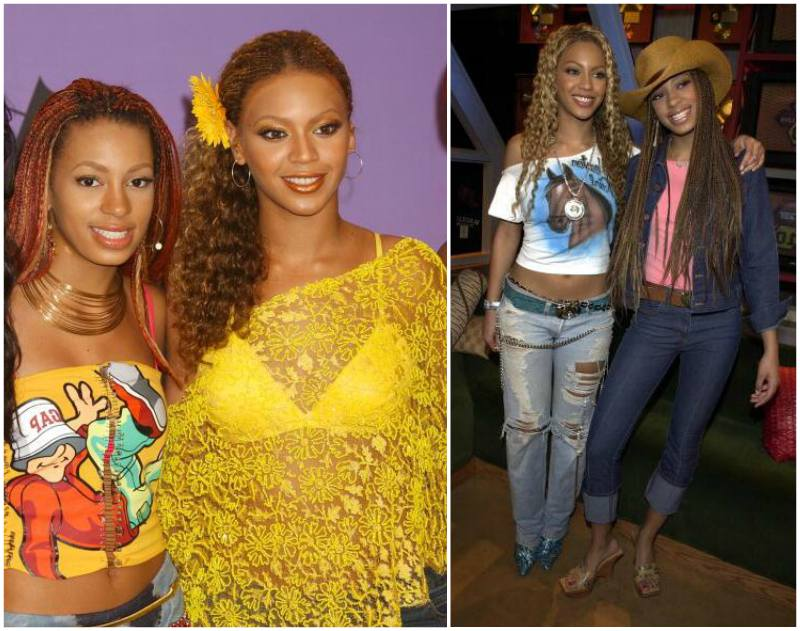 Beyonce`s siblings - sister Solange Knowles