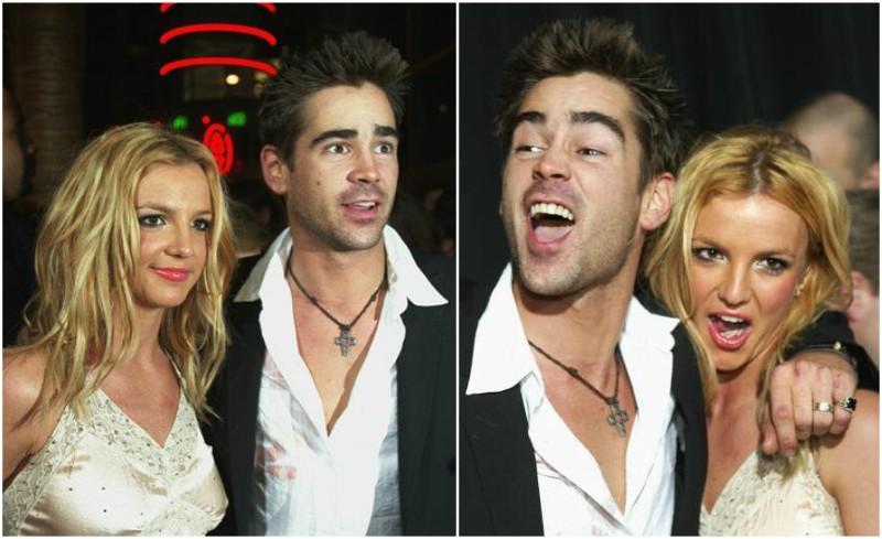 Britney Spears love life - boyfriend Colin Farrell