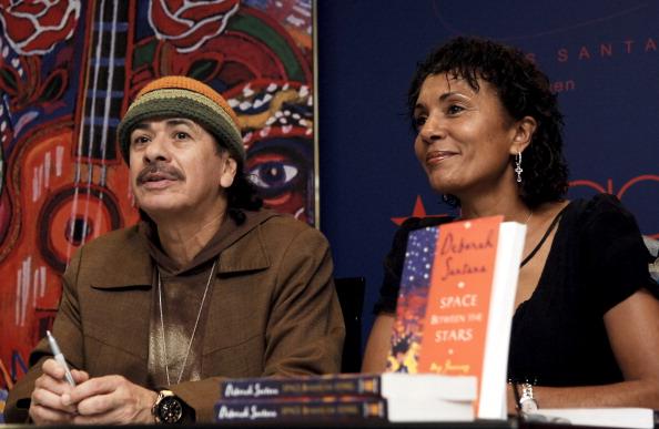 Carlos Santana`s family - ex-wife- Deborah King Santana