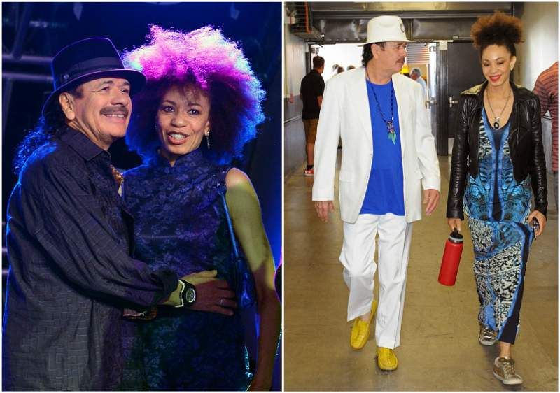 Carlos Santana`s family - wife Cindy Blackman