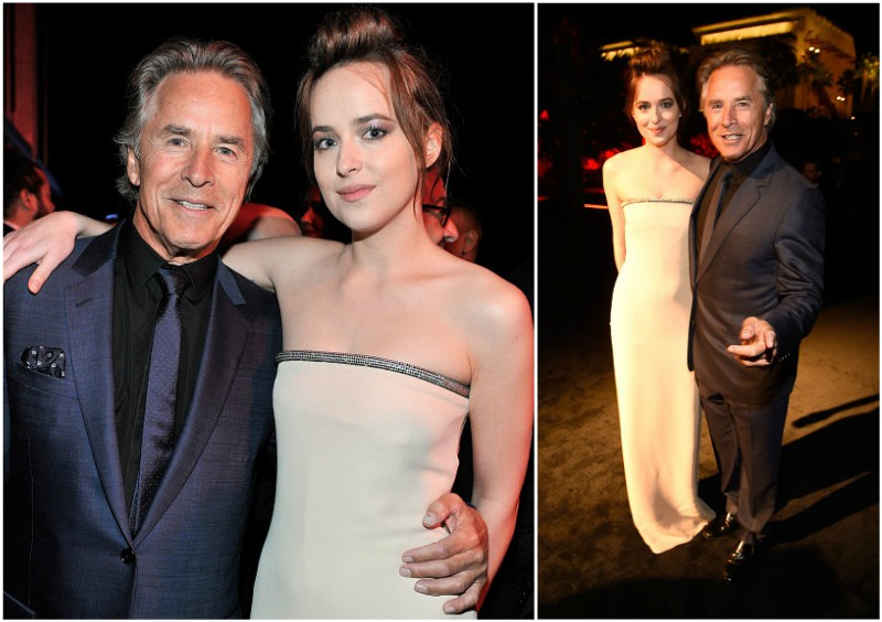 Dakota Johnson`s family - father Don Johnson