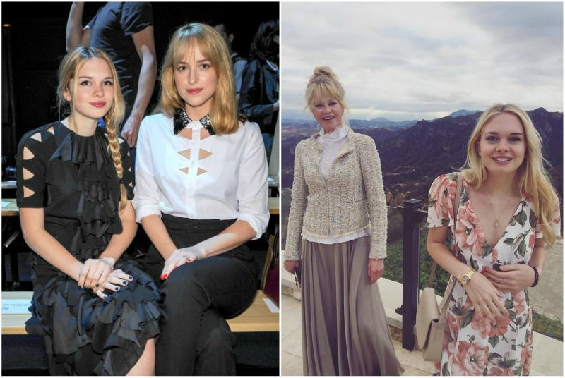Dakota Johnson`s siblings - half-sister Stella Banderas