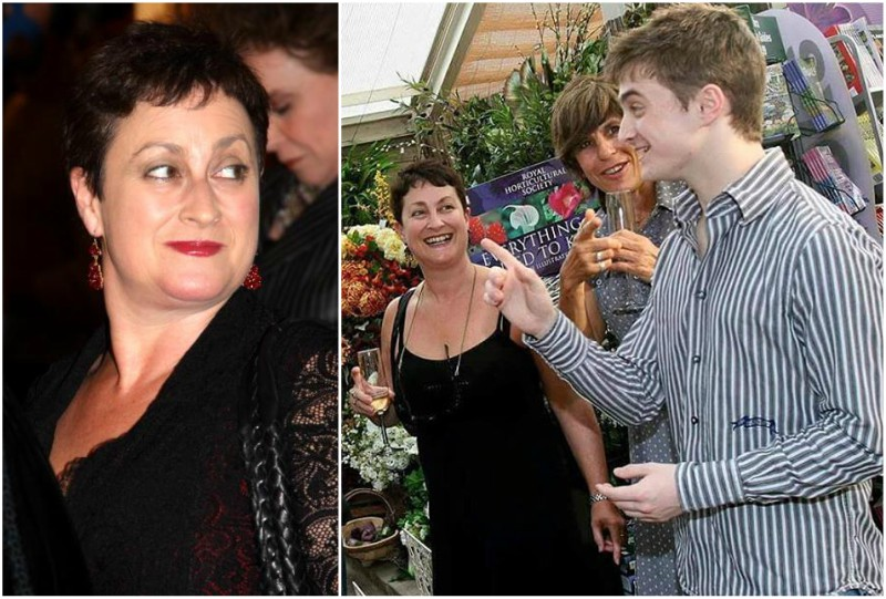 Daniel Radcliffe`s family: Marcia Gresham (mother)