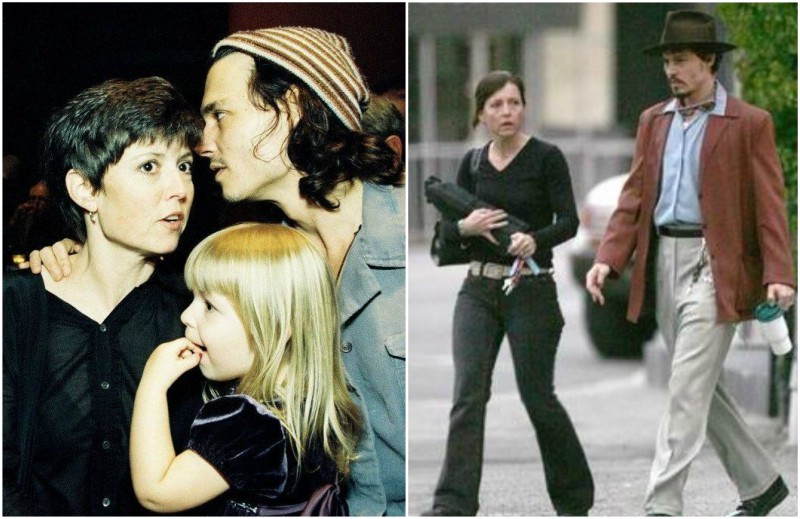 Johnny Depp`s family - sister Christi Depp Dembrowski