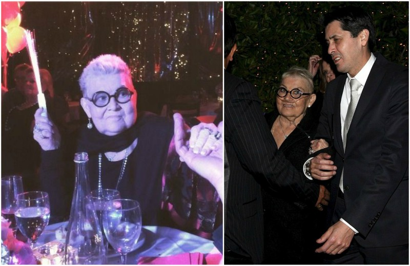 Johnny Depp`s family - mom Betty Sue Palmer