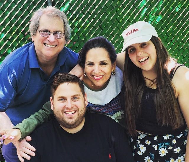 Jonah Hill Feldstein`s family