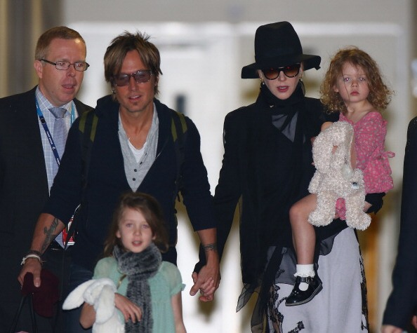 Nicole Kidman`s family - children and husband