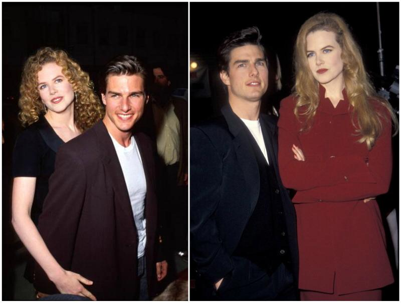Nicole Kidman`s family - ex-husband Tom Cruise