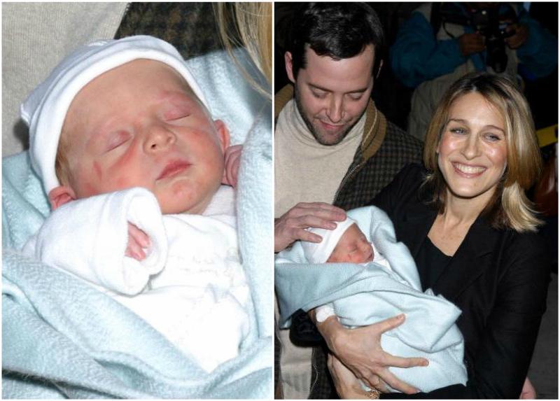Sarah Jessica Parker`s kids - son James Wilkie Broderick