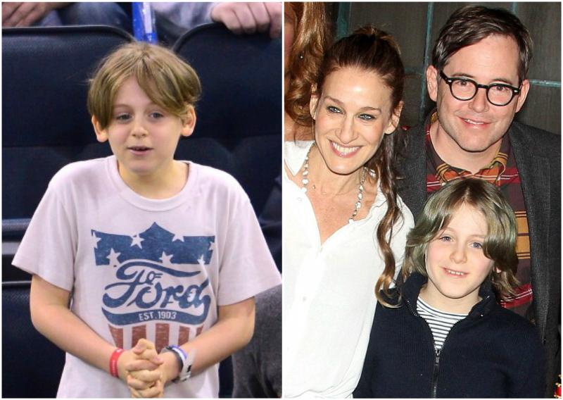 Sarah Jessica Parker`s children - son James Wilkie Broderick