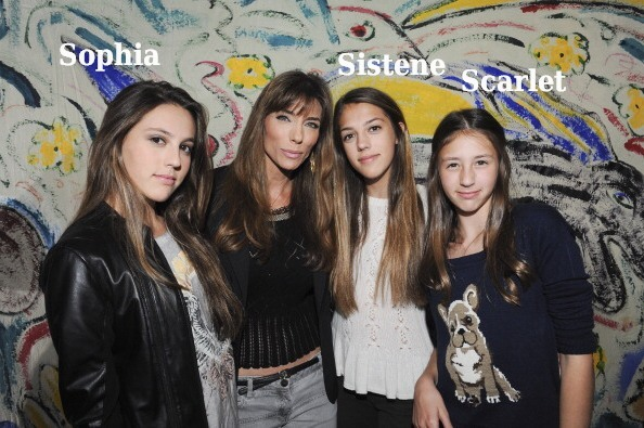 Sylvester Stallone's family - daughters and wife