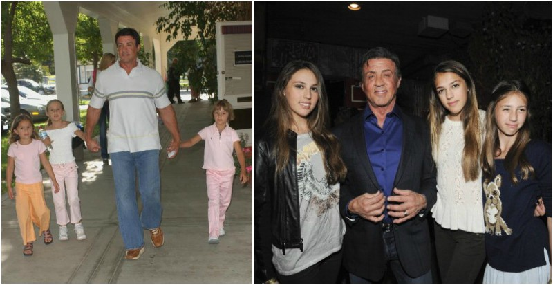 Sylvester Stallone's children - daughters