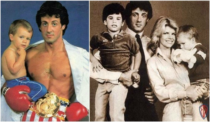 The Children in the Sylvester Stallone's Family Brood