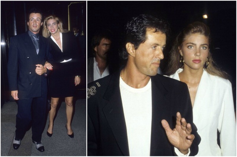 Sylvester Stallone's family - wife Jennife Flavin