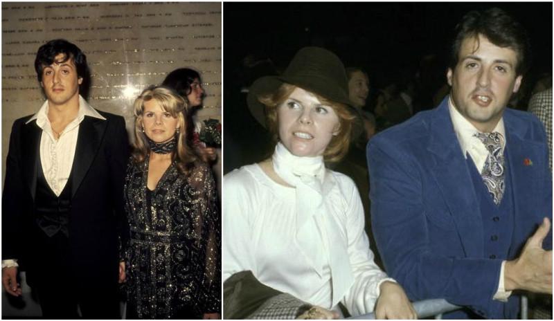 Sylvester Stallone's family - ex-wife Sasha Czack