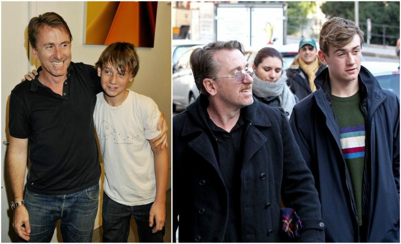 Tim Roth's children - son Hunter Roth