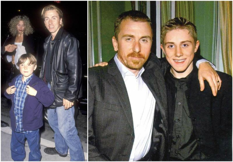 Tim Roth's children - son Jack Roth