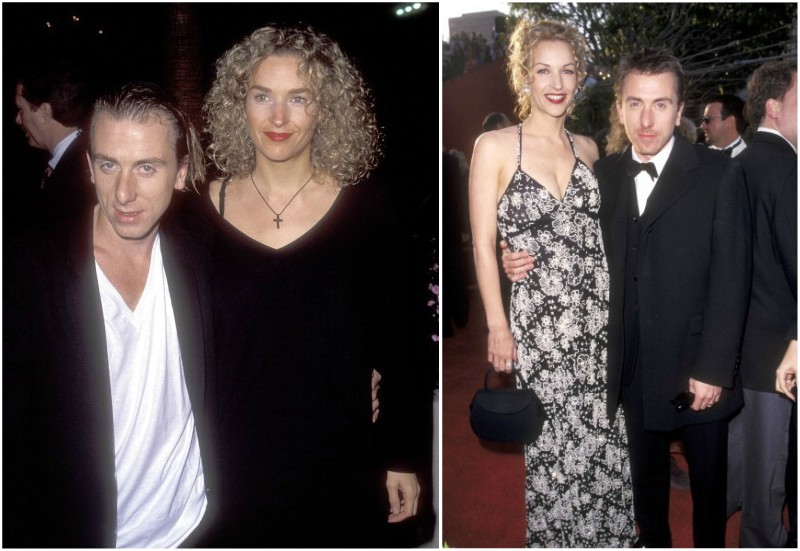 Tim Roth's family - wife Nikki Butler