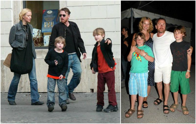 Tim Roth's family - wife and children