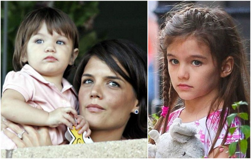 Tom Cruise`s children - daughter Suri Cruise