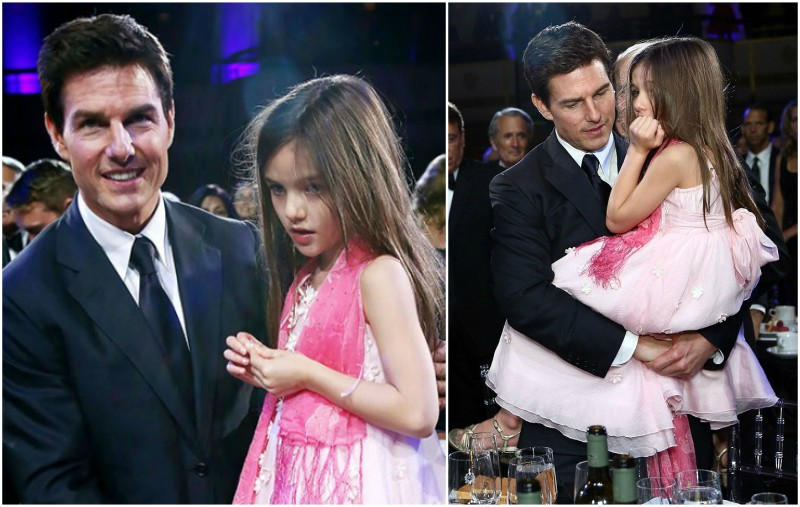 Tom Cruise`s kids - daughter Suri Cruise