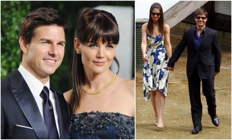 Tom Cruise`s family - ex-wife Katie Holmes