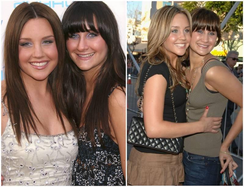 Amanda Bynes siblings - sister Jillian Bynes (O'Keefe)