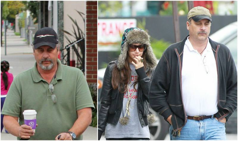 Ashley Tisdale`s family - father Mike Tisdale