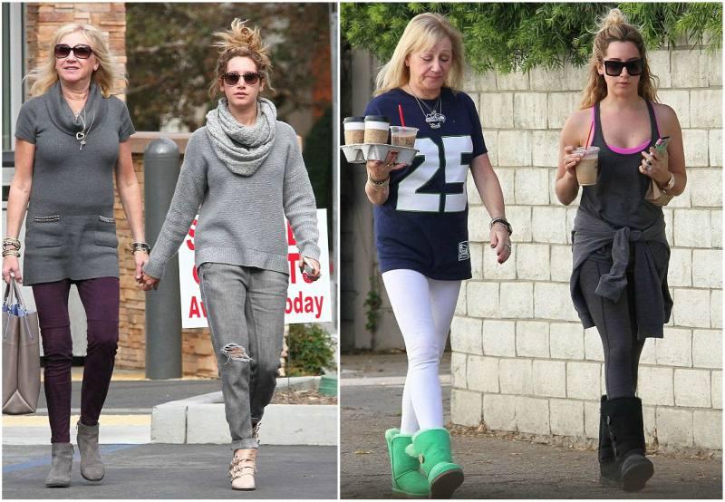 Ashley Tisdale`s family - mother Lisa Morris