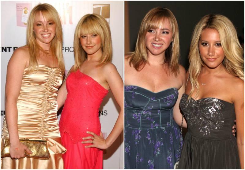 Ashley Tisdale`s siblings - sister Jennifer Kelly Tisdale