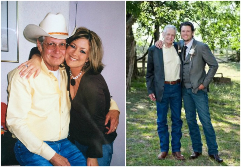 Blake Shelton`s family - father Richard Lee Shelton